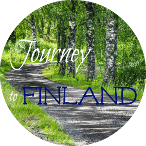 birch tree road journey finland