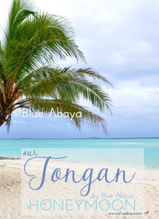 tonga honeymoon blueabaya