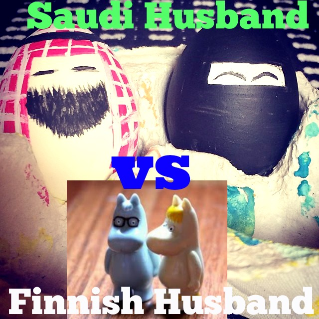 Saudi vs Finnish husband
