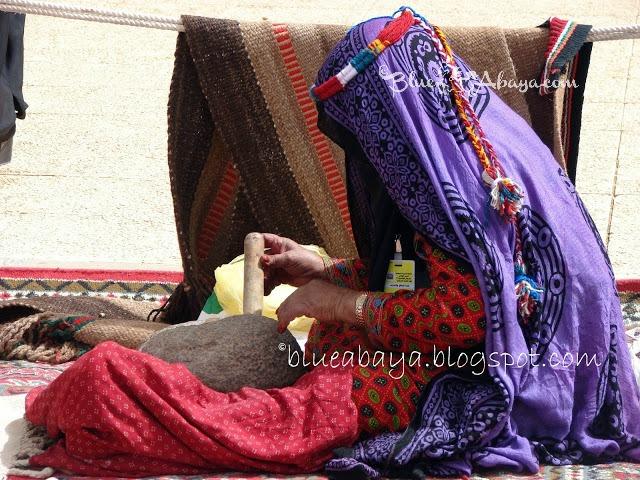 saudi woman veil color bedu