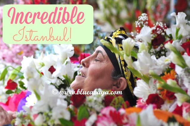 instanbul flower lady