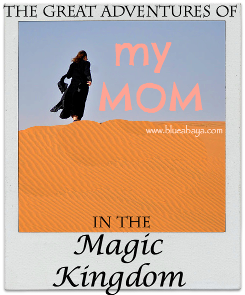 mom in magic kingdom