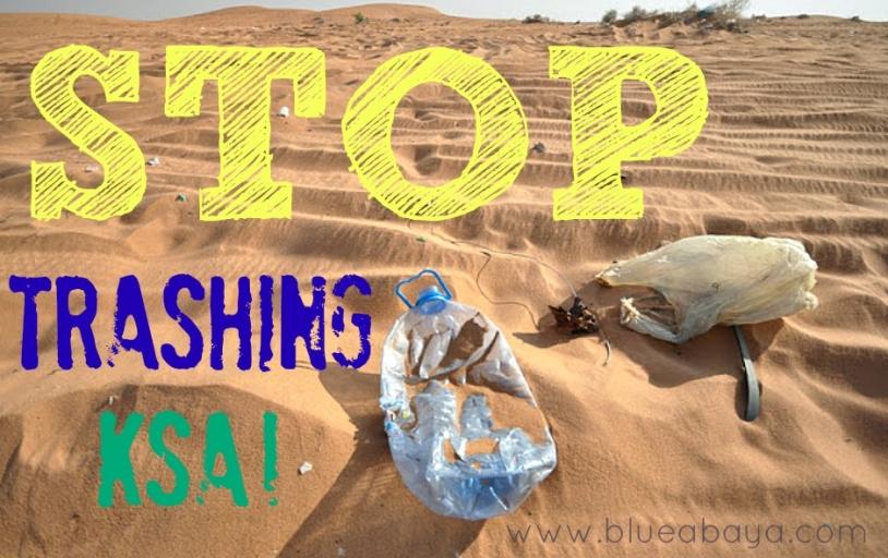 stop trashing ksa