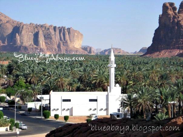 al ula mosque wadi saudi
