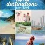 Top 10 Travel Destinations From Saudi Arabia