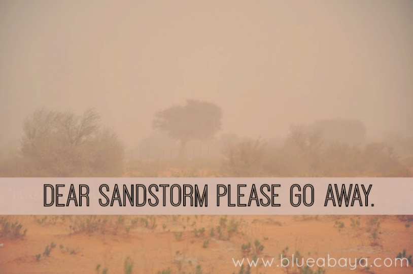 go away sandstorm