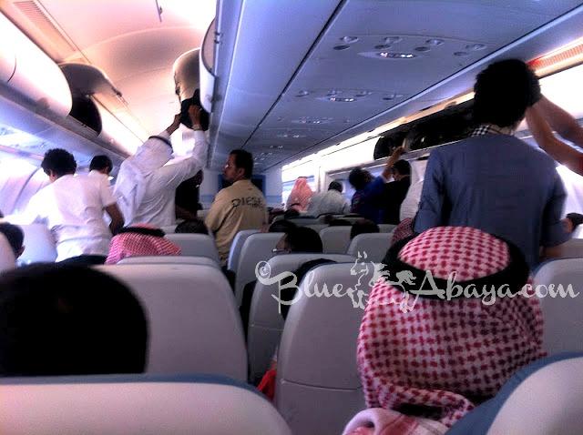 saudi plane passengers