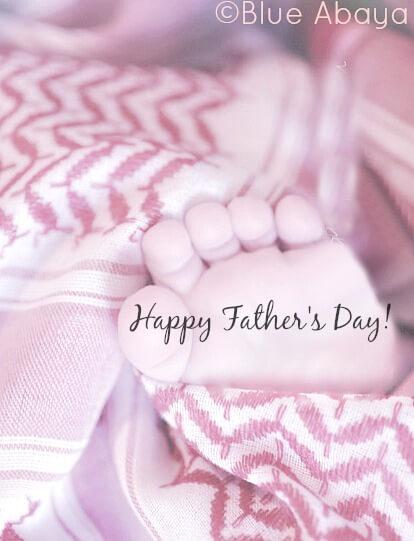 baby feet fathers day saudi arabia