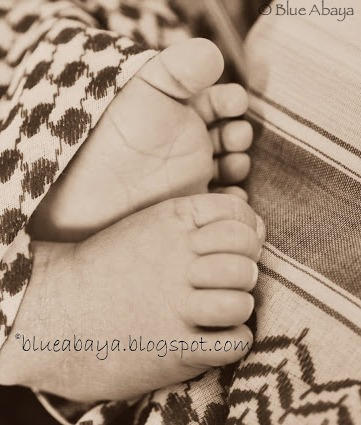 baby feet in shumagh