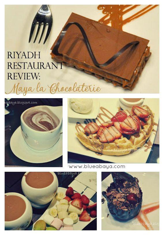 Maya la chocolaterie riyadh restaurant review