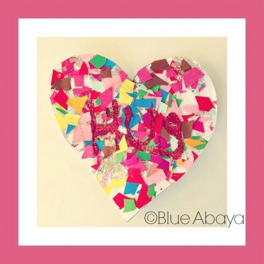 heart hug happiness valentines diy