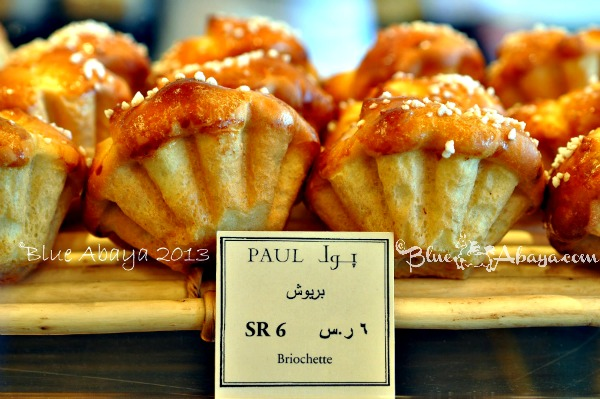 pauls riyadh bakery briochettes