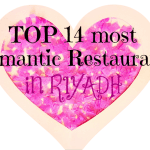 The Top 14 Most Romantic Restaurants In Riyadh