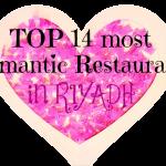 The Top 14 Most Romantic Restaurants In Riyadh