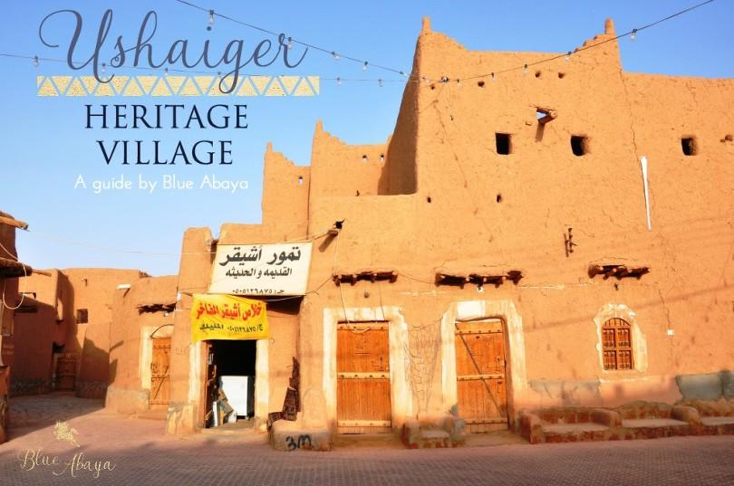 guide ushaiger heritage village riyadh
