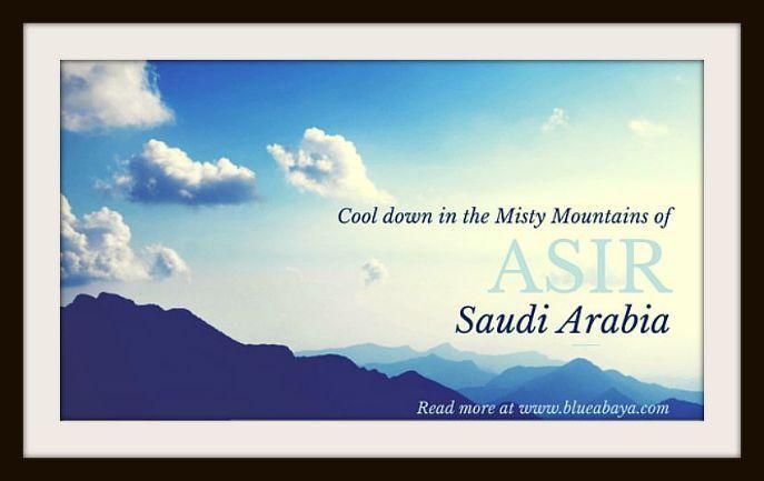 misty mountains asir province ksa