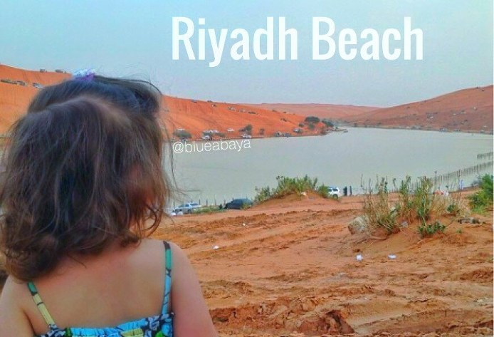 riyadh beach desert lake