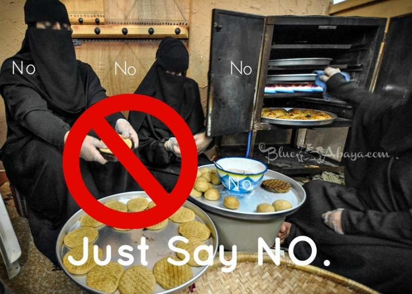 saudi culture just say no