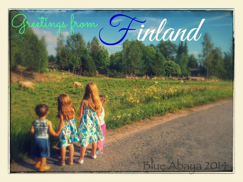 finland postcard greetings