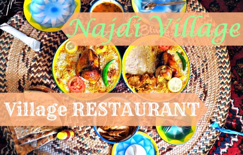 najdi village restaurant riyadh food