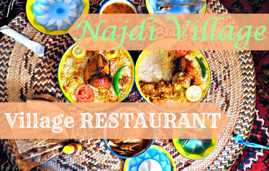 The Najdi Village Restaurant In Riyadh Blue Abaya