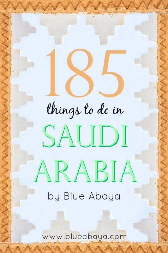 185 Things to do in KSA