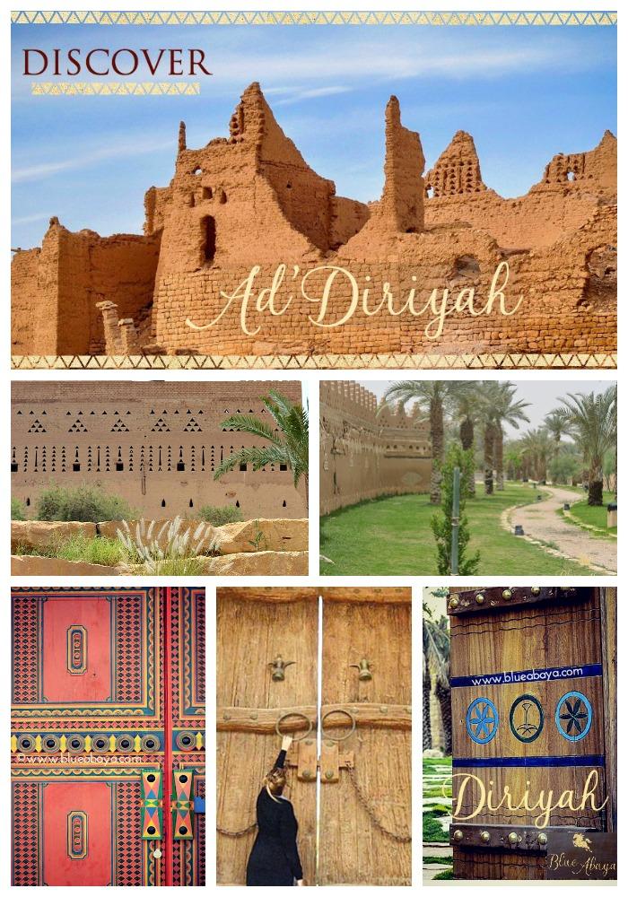 Ten Things To Do In Riyadh S Historical Diriyah 187 Blue Abaya