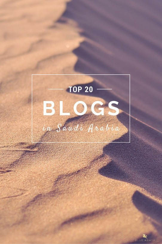 top blogs in Saudi Arabia