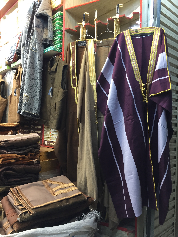 Riyadh Bisht Souk- Winter Coat Shopping in Saudi-Arabia | Blue Abaya