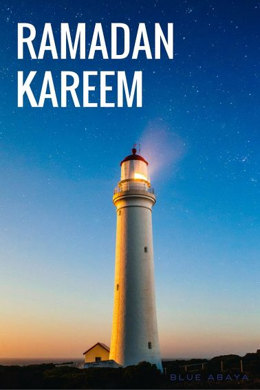 ramadan kareem lighthouse