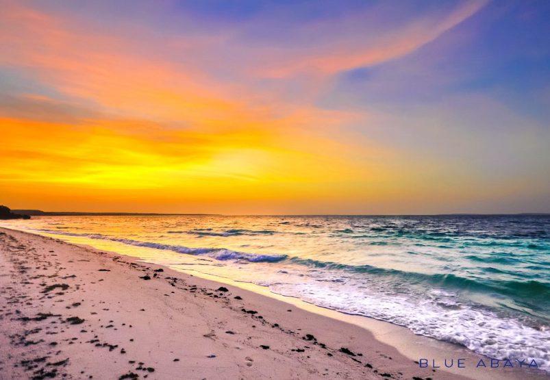 farasan island sunset beach