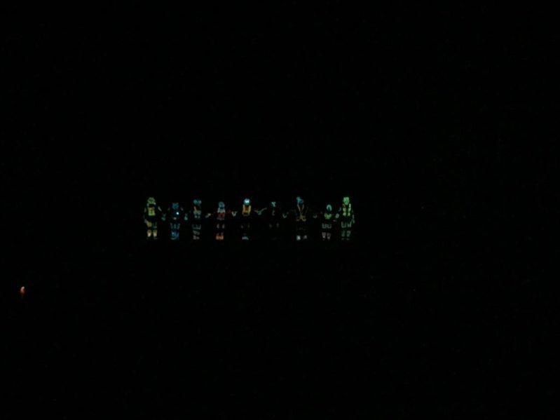 iluminate Riyadh show