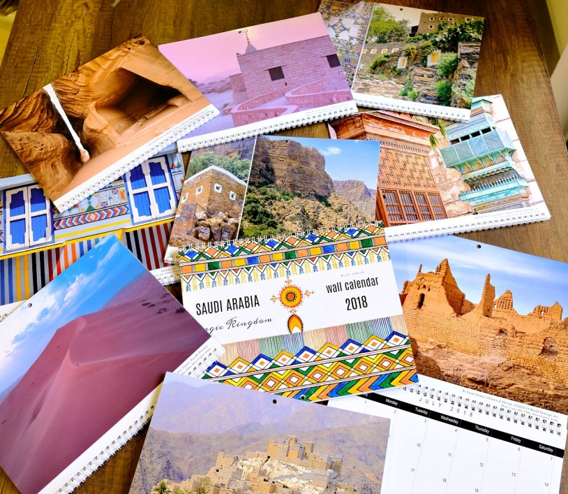 Perfect Saudi souvenirs-Wall calendars