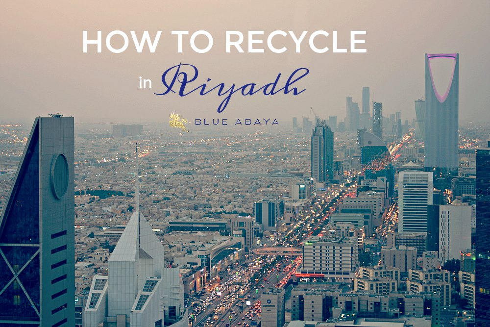Recycle Center in Riyadh | Blue Abaya