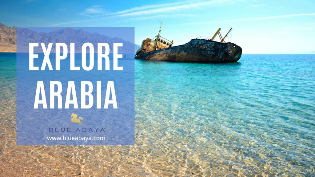 Explore Saudi Arabia | Blue Abaya